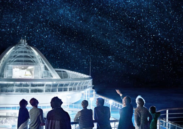 princess cruises for families stargazing