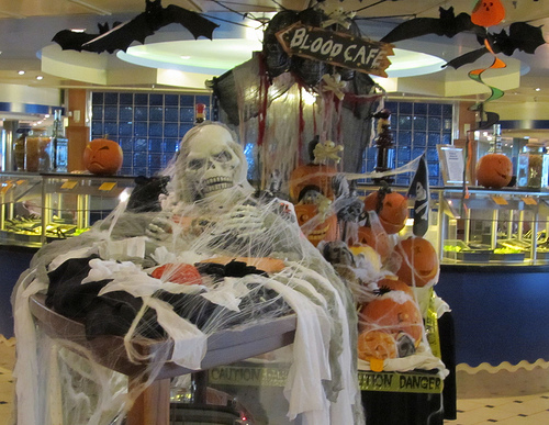 Halloween cruise on Royal Caribbean