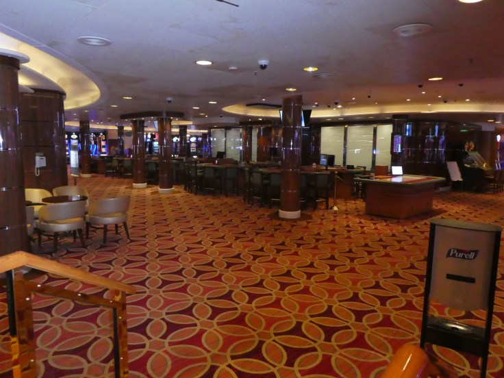 The Casino on Sapphire Princess