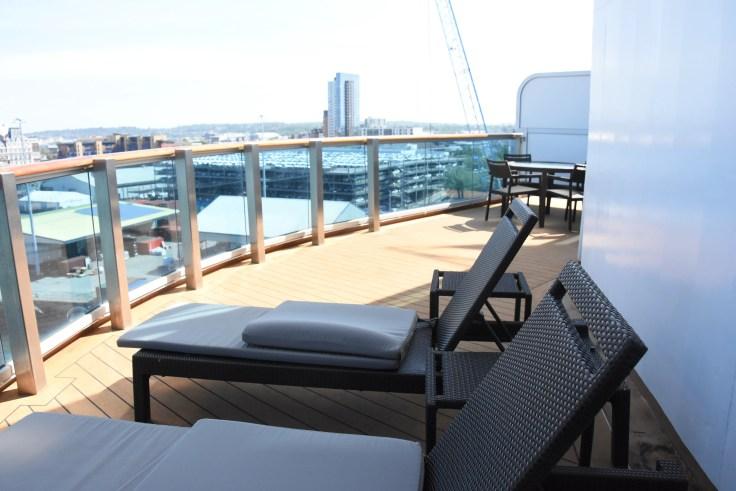 corner suite Royal Princess cruise ship
