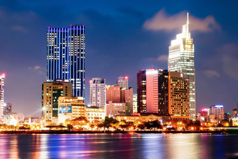 Ho Chi Minh City by night