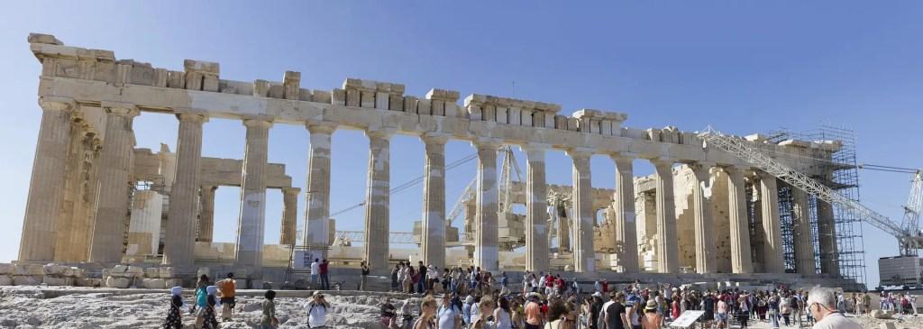 Pantheon Acropolis destination 2019