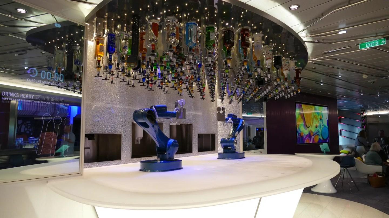 Bionic Bar Royal Caribbean Quantum of the Seas