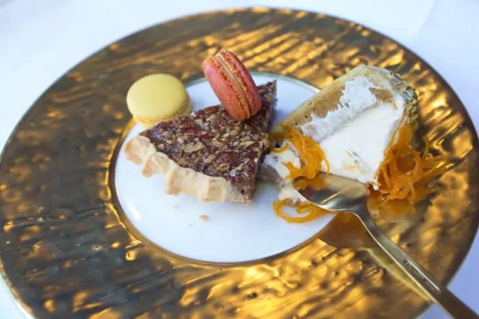 Pumpkin pie dessert Royal Caribbean