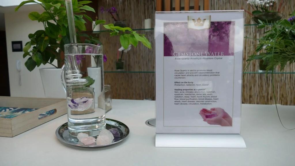 gemstone infused water