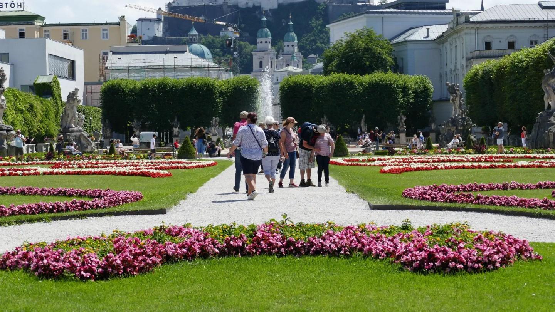 active river cruises Walking Salzburg