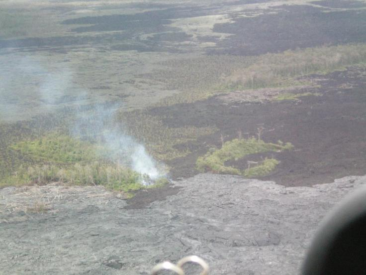Hawaii helicopter ride lava