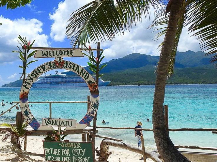 mystery island south pacific cruise destinations