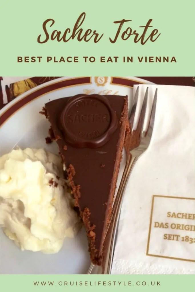 Where to find the best Sacher Torte in Vienna
