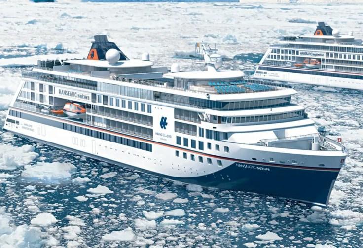 Hapag Lloyd expedition ship