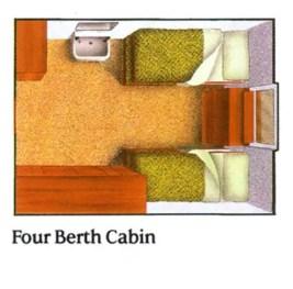 canberra inside cabin