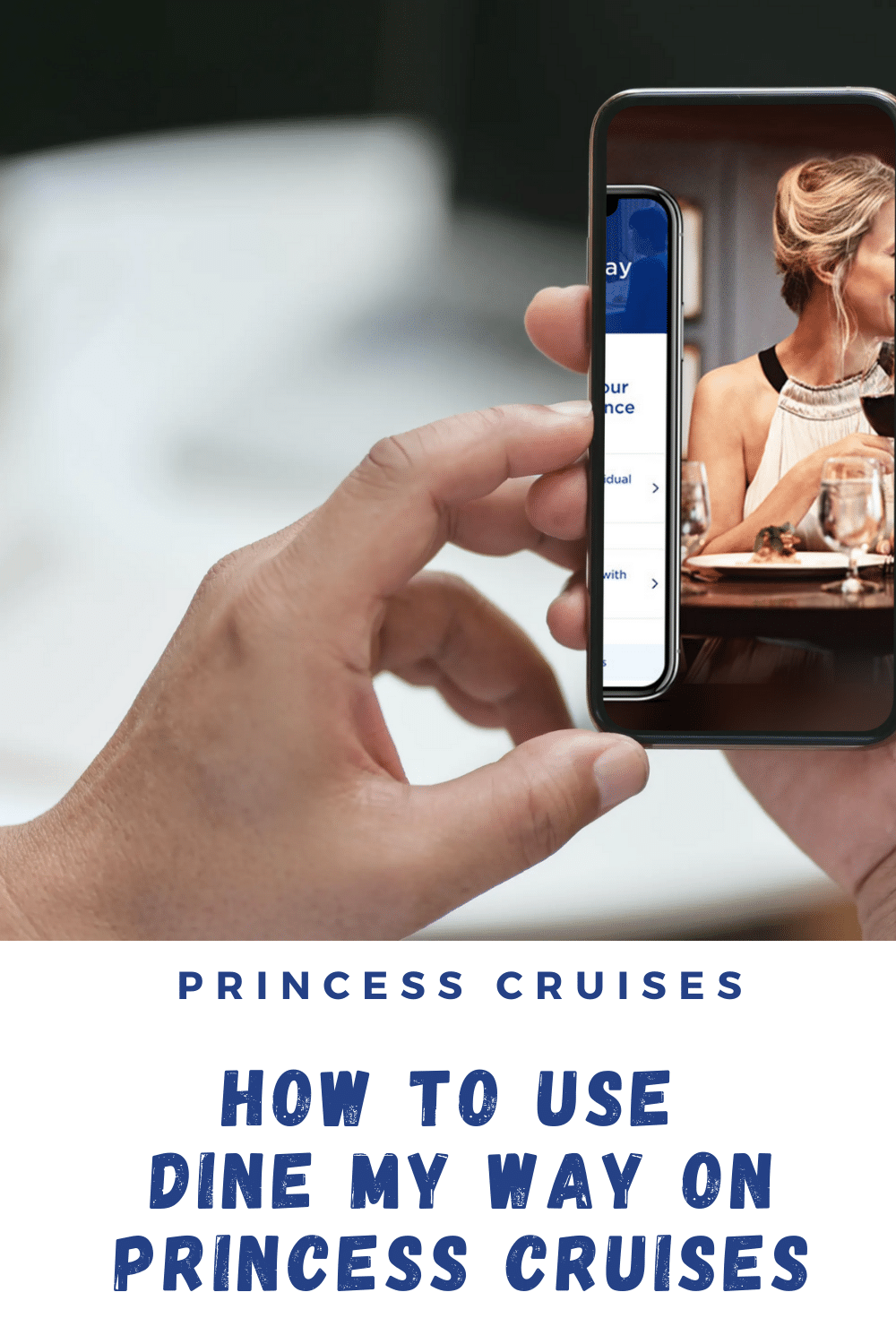 Princess Cruises' new Dine My Way enables passengers to make dining reservations in any restaurant. Find out how it works.