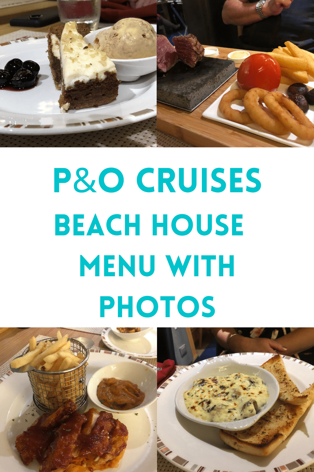 The Beach House on P&O Cruises is a casual specialty dining option that offers American and Caribbean dishes at an affordable price.