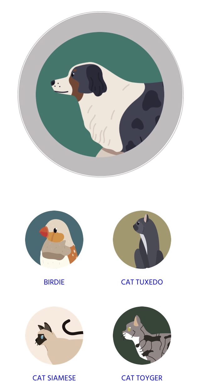 Personalise your OceanMedallion with your favourite pet