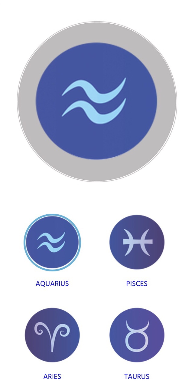 Personalise your OceanMedallion with your zodiac sign