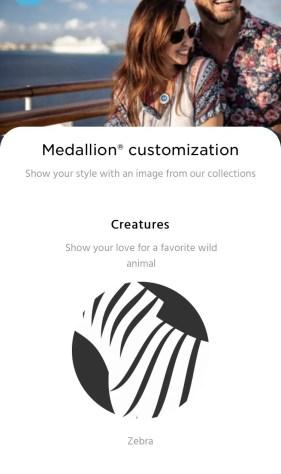 OceanMedallion customisation