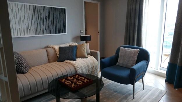 Sky Suite living area