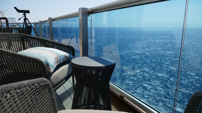 Sky Suite balcony