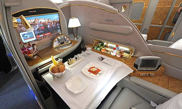 First Class Air Travel, Then and Now… | CRUISING THE PAST