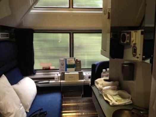 amtrak coast starlight train reviews and photos - Amtrak Superliner Bedroom