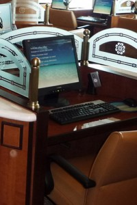 Internet Cafe - Princess - www.cruisemood.com