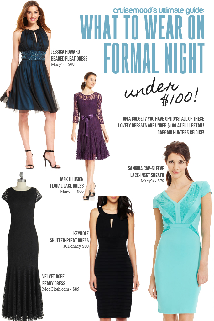 What To Wear On Formal Night Recommendations For Cruise Formal Wear
