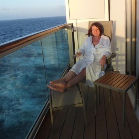 Balcony Britannia Suite