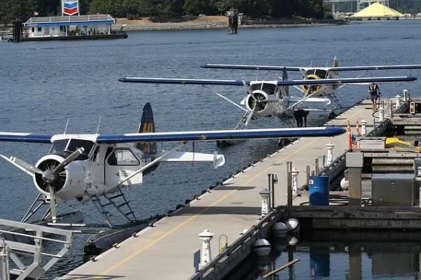 seaplane in vancouver