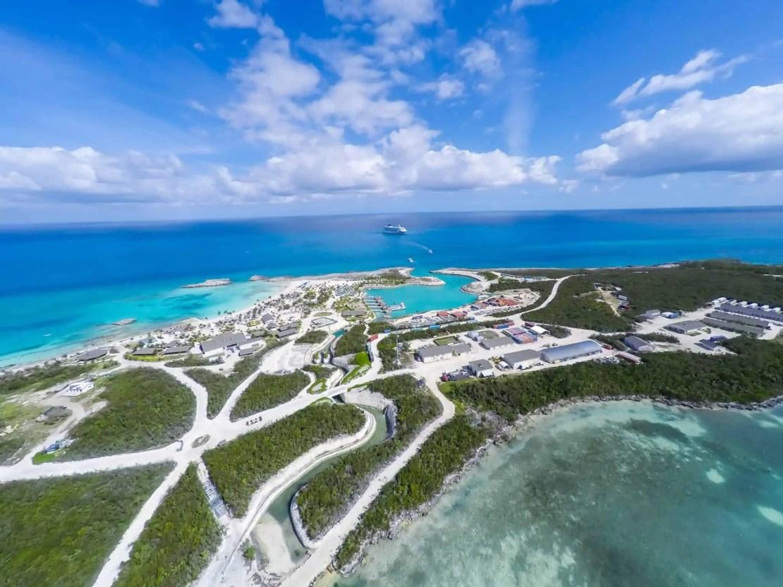 gran cayo estribo bahamas crucero noruego isla privada