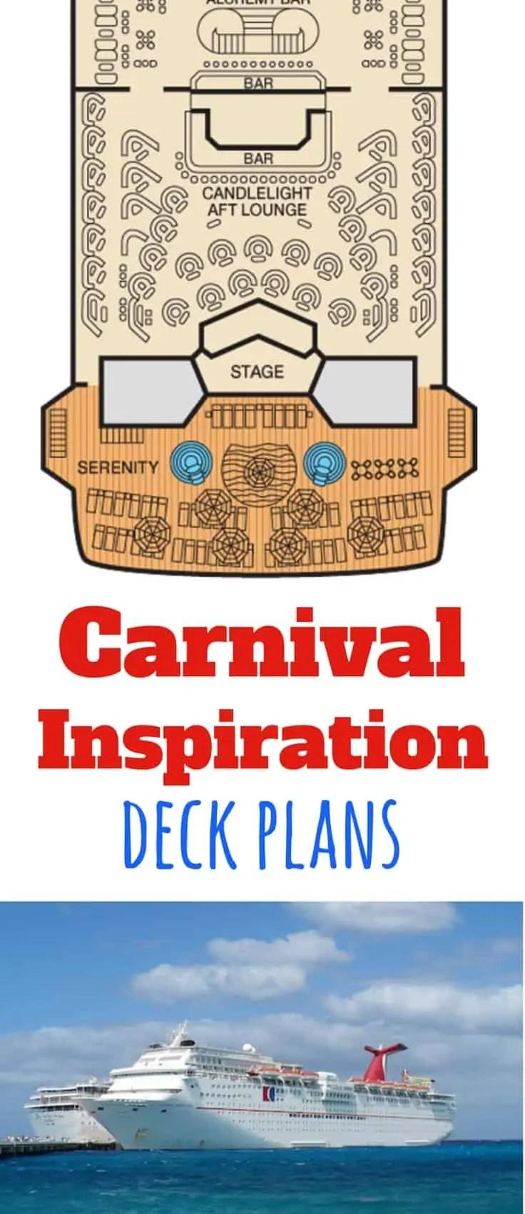 Carnival Inspiration Deck Plans on Deck Inspiration  id=32477
