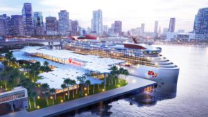 Virgin Voyages begins construction work on its new terminal in Miami: Terminal V