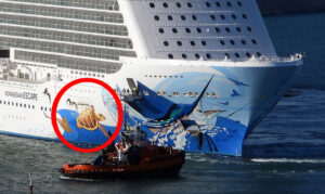 Norwegian Escape Collides While Maneuvering in Civitavecchia