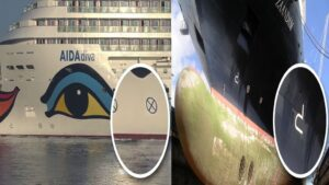 What Do The Symbols That Exist On Cruise Ship Hulls Mean?