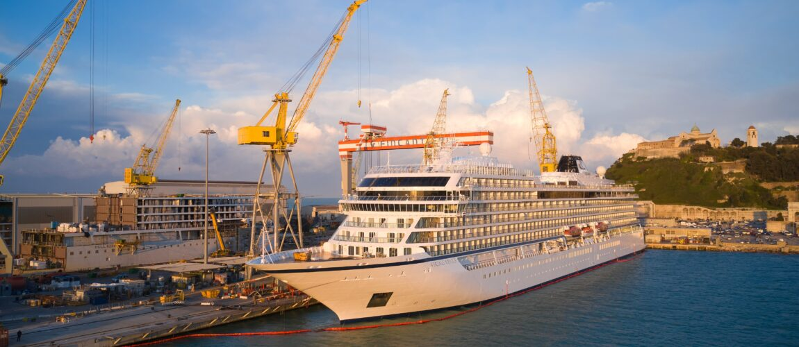 "Ancona, Fincantieri: the cruise ship ""Viking Venus"" delivered"
