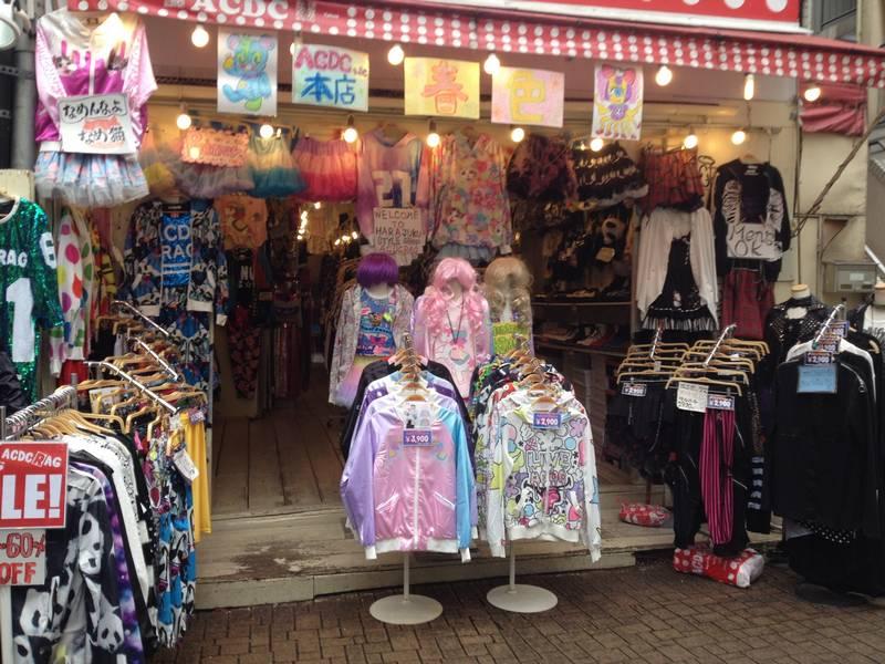 Harajuku ACDC Shop