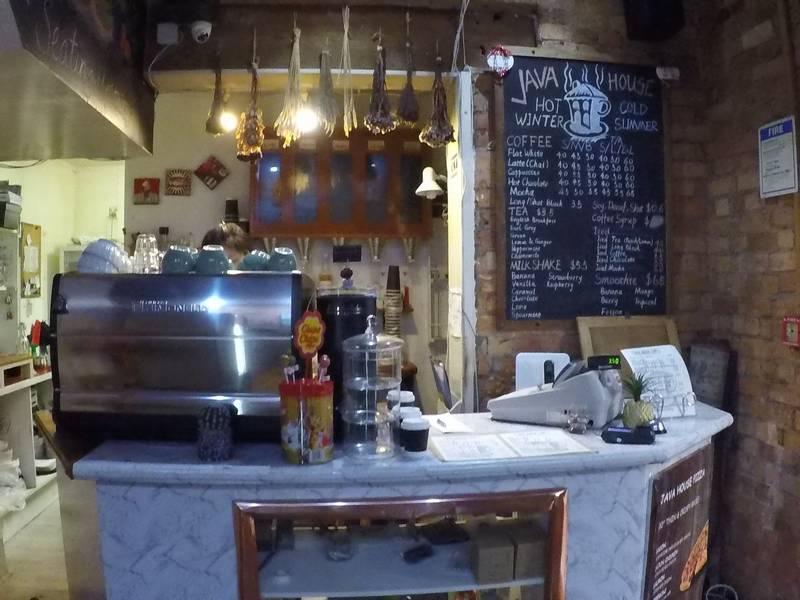Java Coffee House in Devonport
