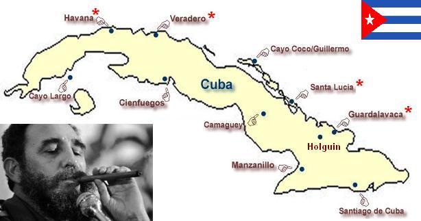 map Cuba