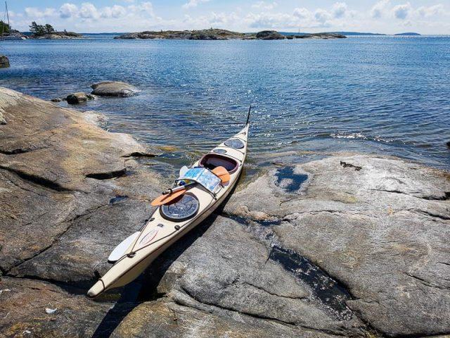 Kayaking in Stockholm Archipelago