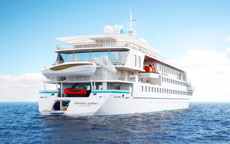 Crystal Esprit Luxury Yacht 2018 And 2019 Crystal Esprit Destinations Deals The Cruise Web