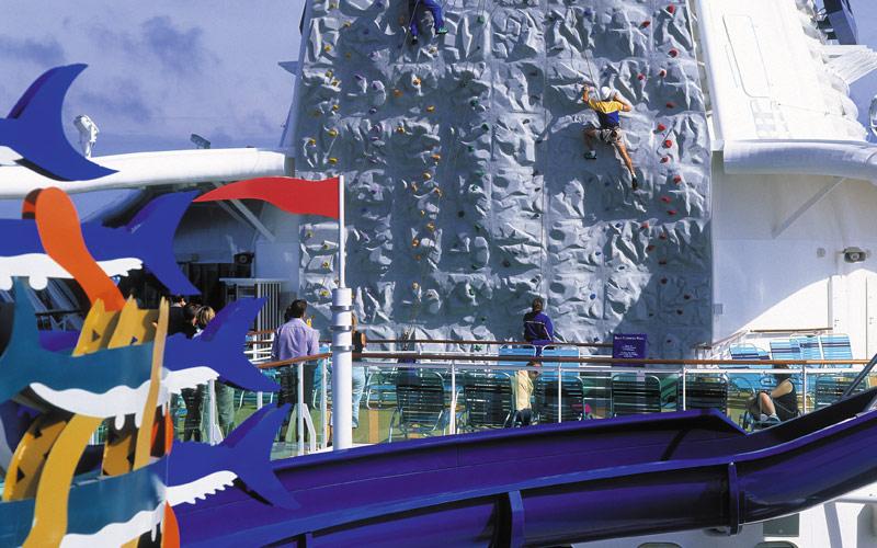 Royal Caribbean Brilliance of the Seas Waterslide