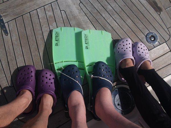 "Crocs ""R"" us!"