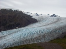 Exit Glacier and Harding Ice Field