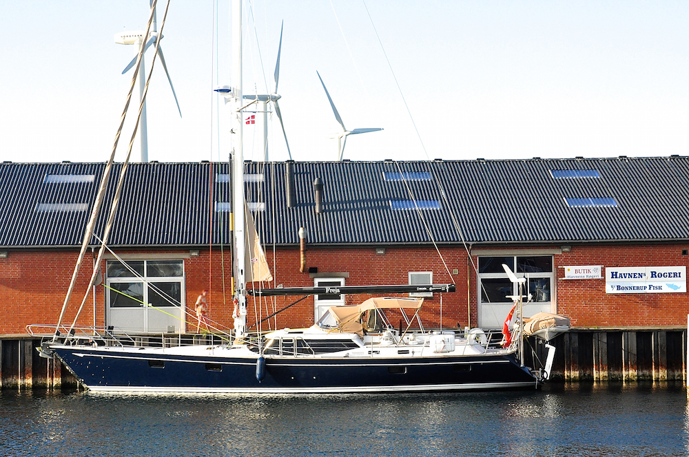 Bønnerup fishing harbour and marina | Cruising Attitude Sailing Blog - Discovery 55