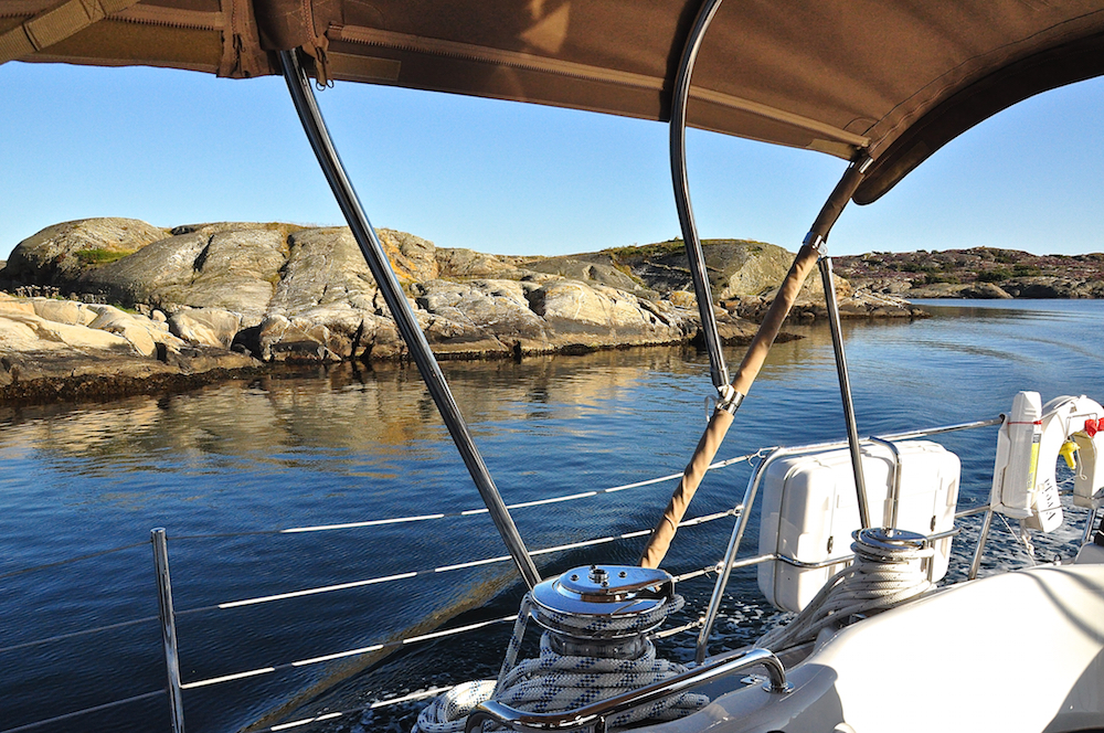 Sailing to Ellös | Cruising Attitude Sailing Blog - Discovery 55