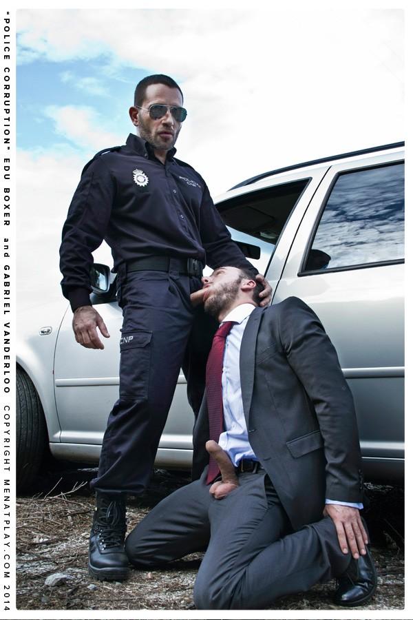 Edu Boxer Gabriel Vanderloo Policia CM-2