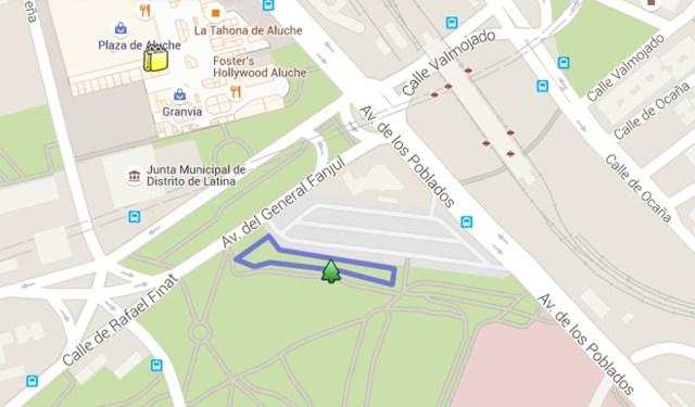 Parque de las Tres Cruces Aluche cruising MADRID