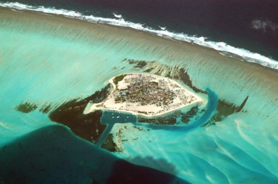 Aerial view Thulhaadhoo