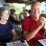 Sarah and Phil, the crew of Spartina