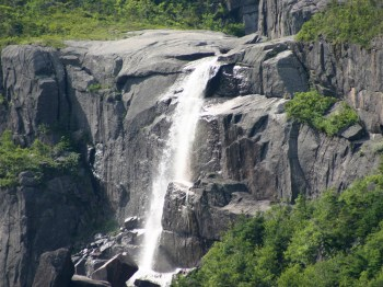 Waterfall in Rencontre Bay