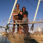 The crew of the good ship, Selkie